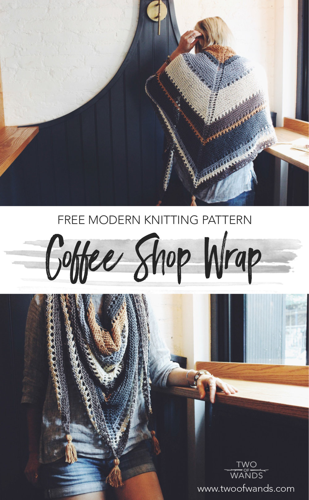 Coffee Shop Wrap Pattern by Two of Wands