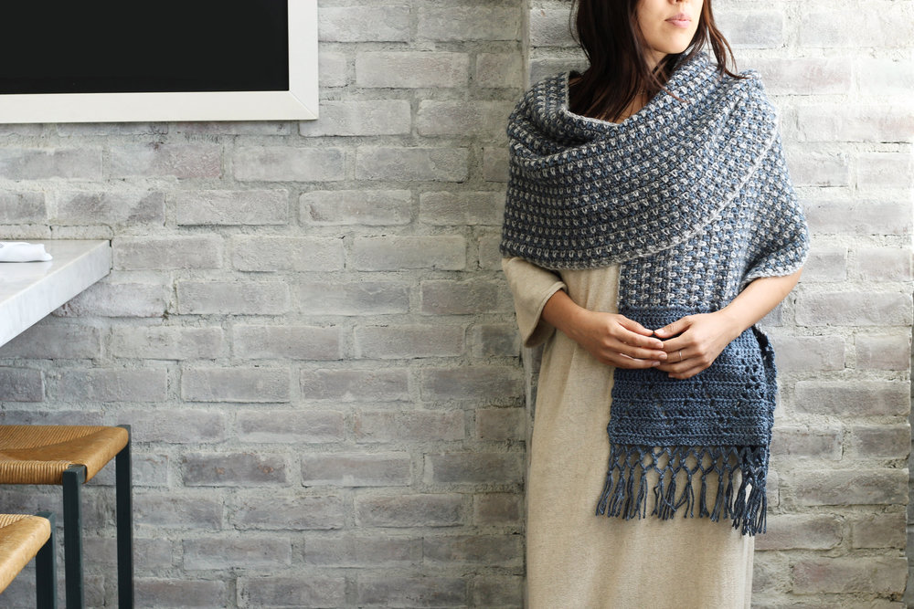 Rebozo Wrap pattern by Two of Wands