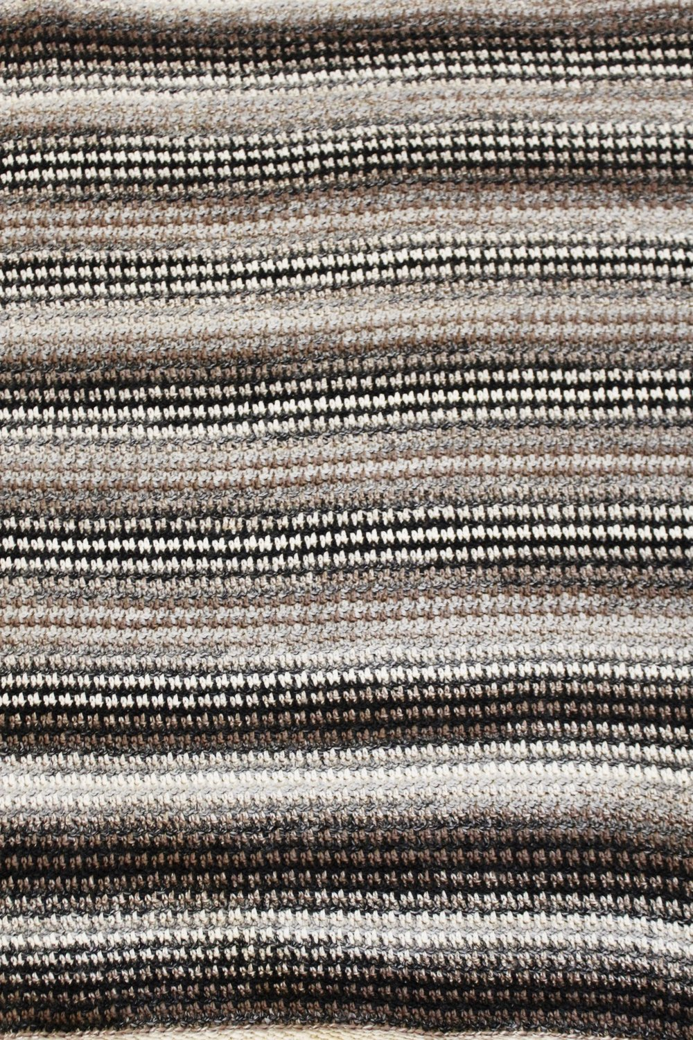 Houndstooth Cabin Throw pattern by Two of Wands