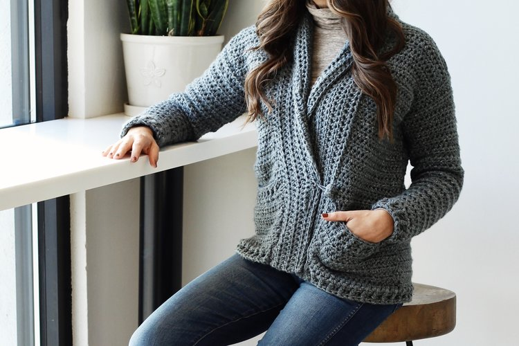 55a2fd949 Harold Cardigan pattern by Two of Wands