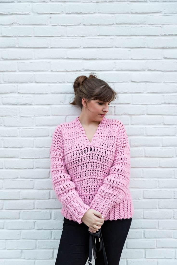 Bubblegum Pullover by Sewrella