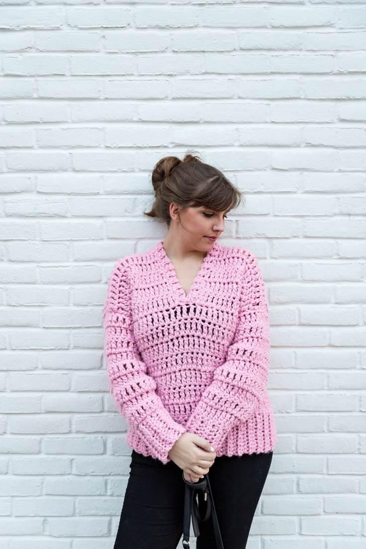 Bubblegum Pullover by Sewrella