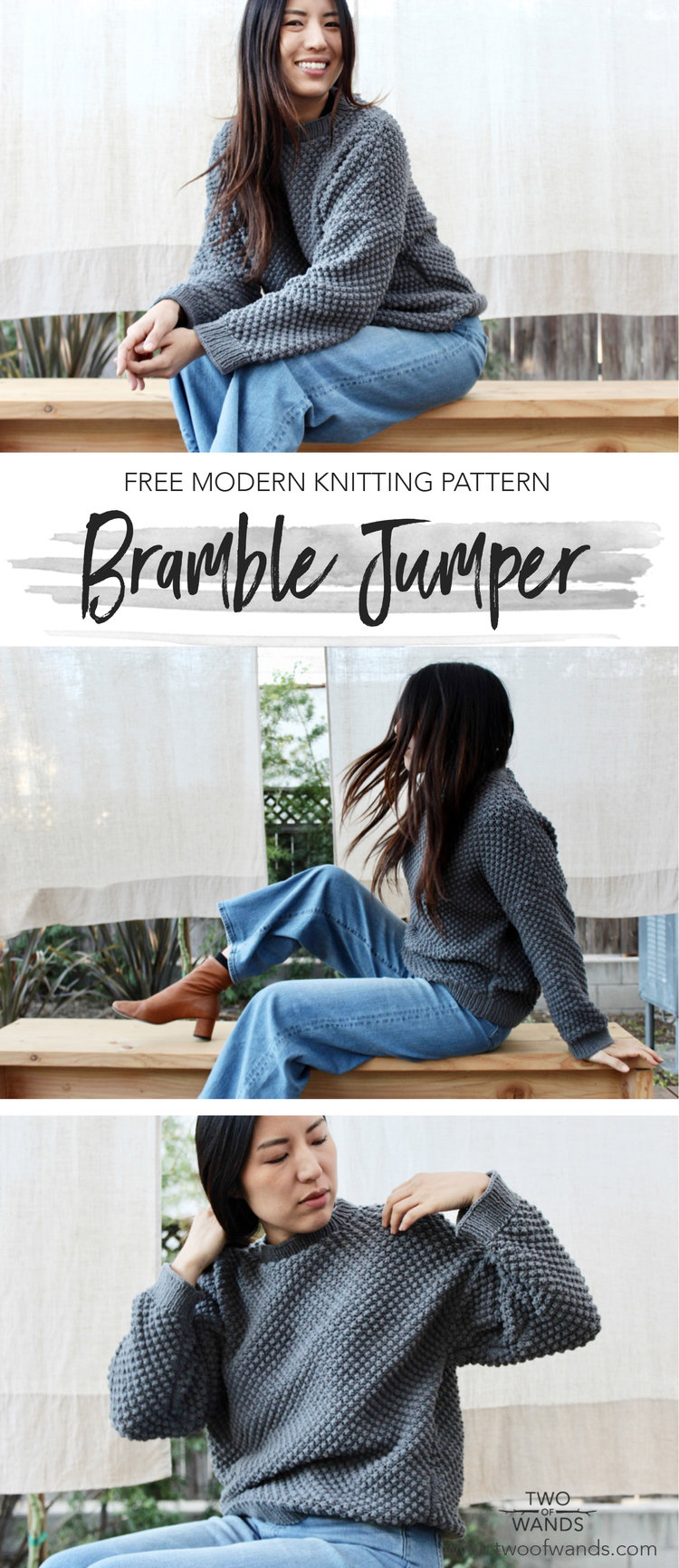 Bramble Jumper — Two of Wands