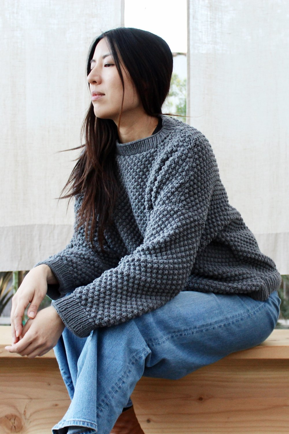 Bramble Sweater pattern by Two of Wands