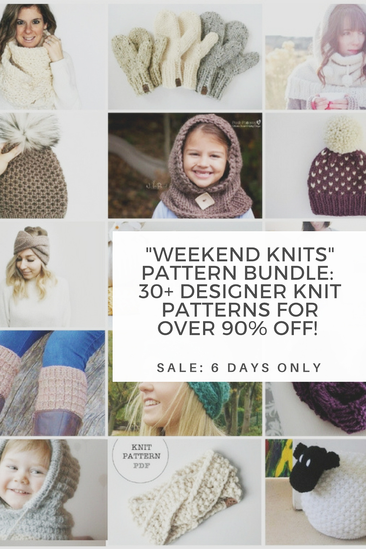 Weekend Knits Pattern Bundle