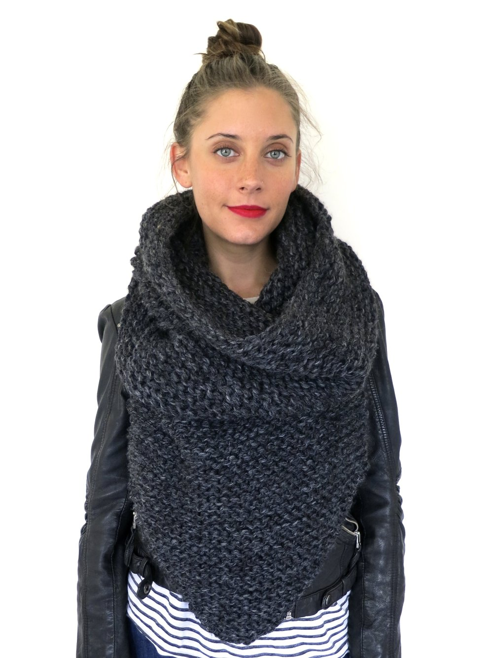 Armor Scarf pattern by Two of Wands