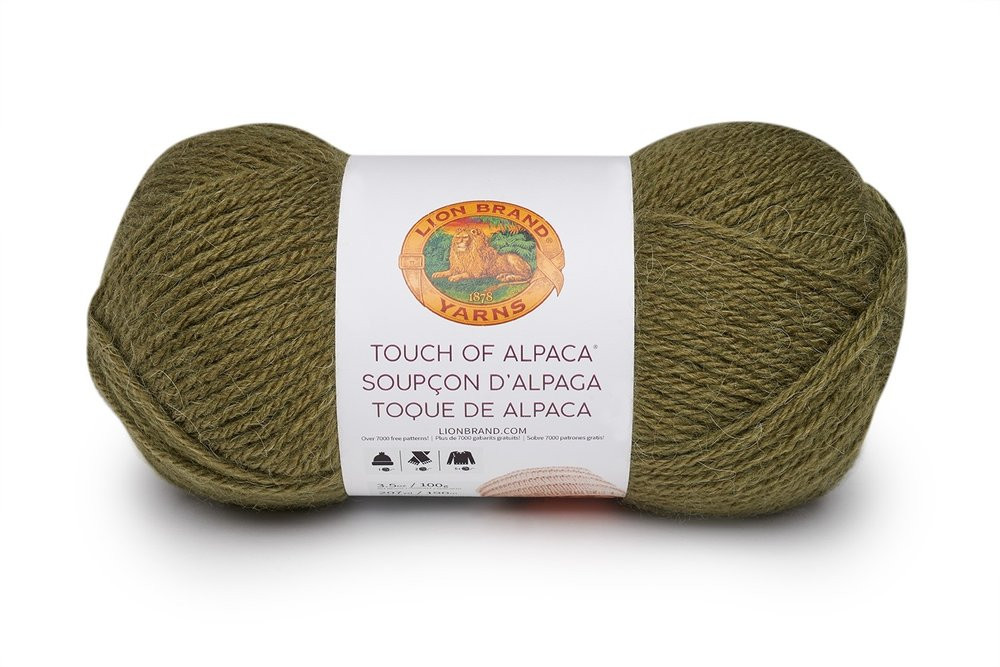 Touch of Alpaca in Olive