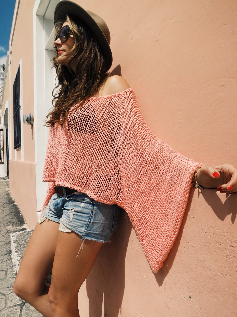 Yucatan Sweater pattern by Two of Wands