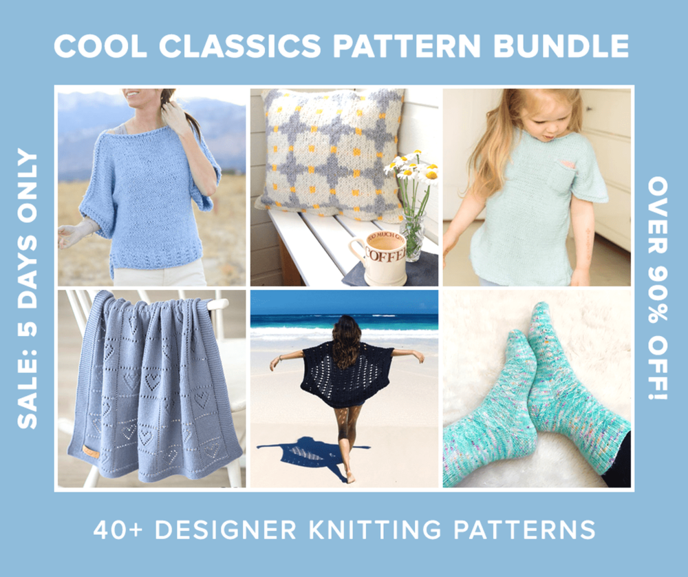 Cool Classics Knitting Pattern Bundle Two Of Wands