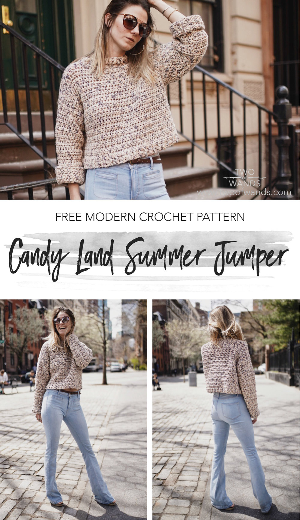 Candy Land Summer Jumper pattern by Two of Wands