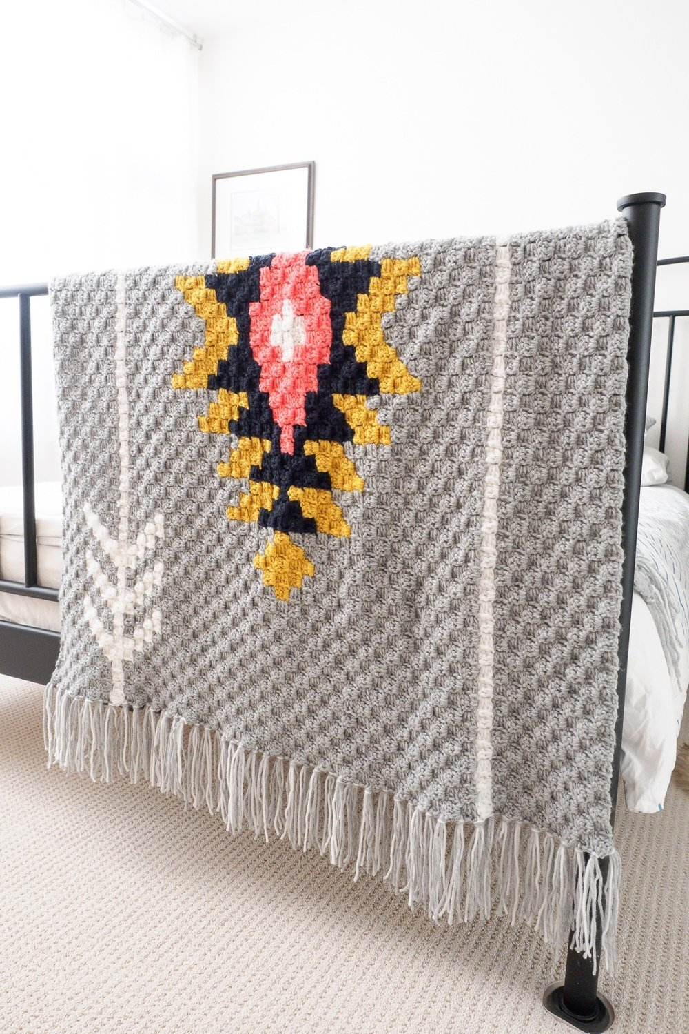 Sunburst Afghan by One Dog Woof