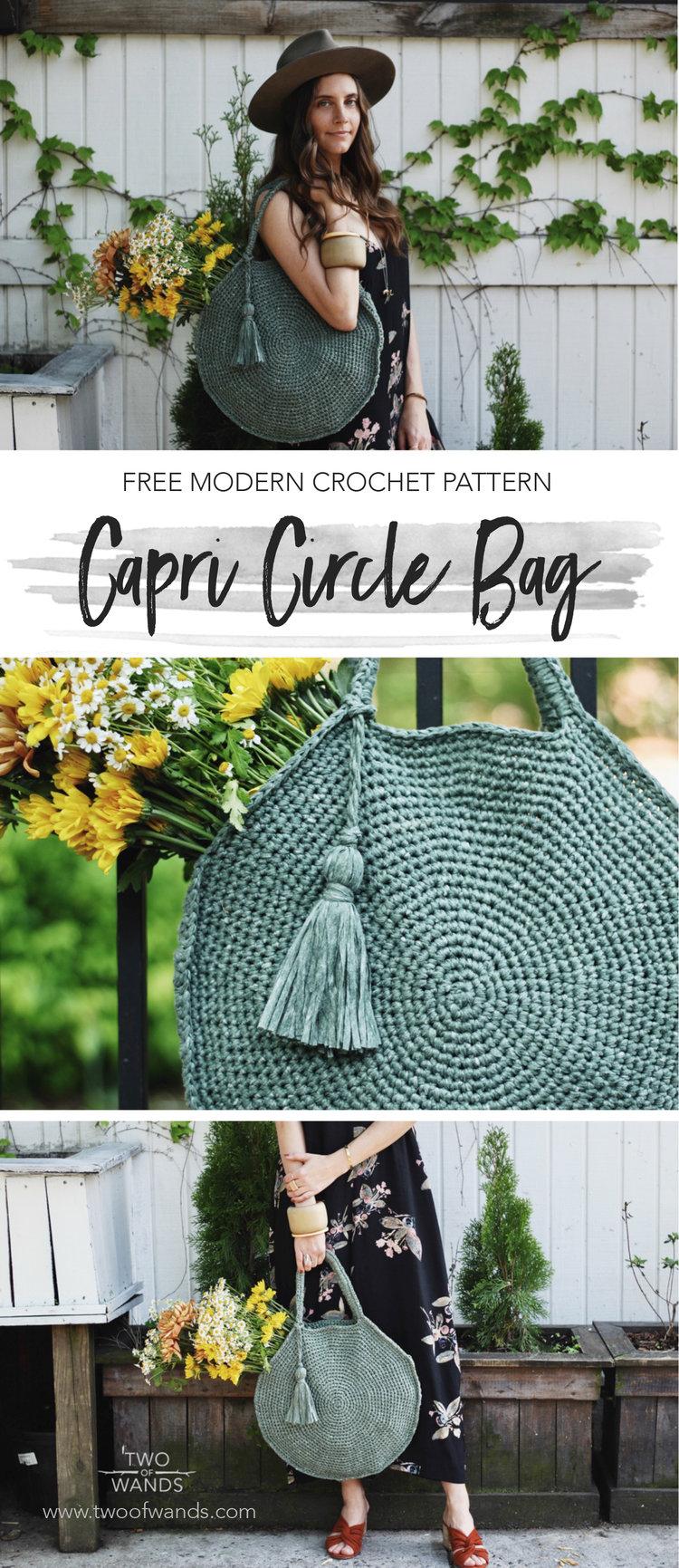 Capri Circle Bag Two Of Wands