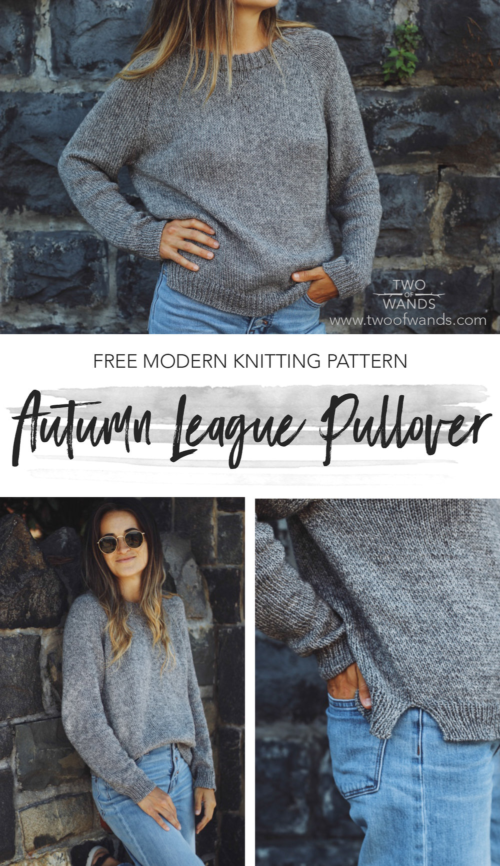 5538cd225b7c6c Autumn League Pullover pattern by Two of Wands