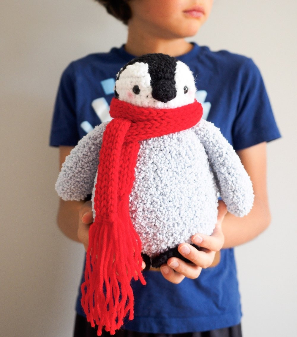 Baby Penguin Amigurumi by One Dog Woof