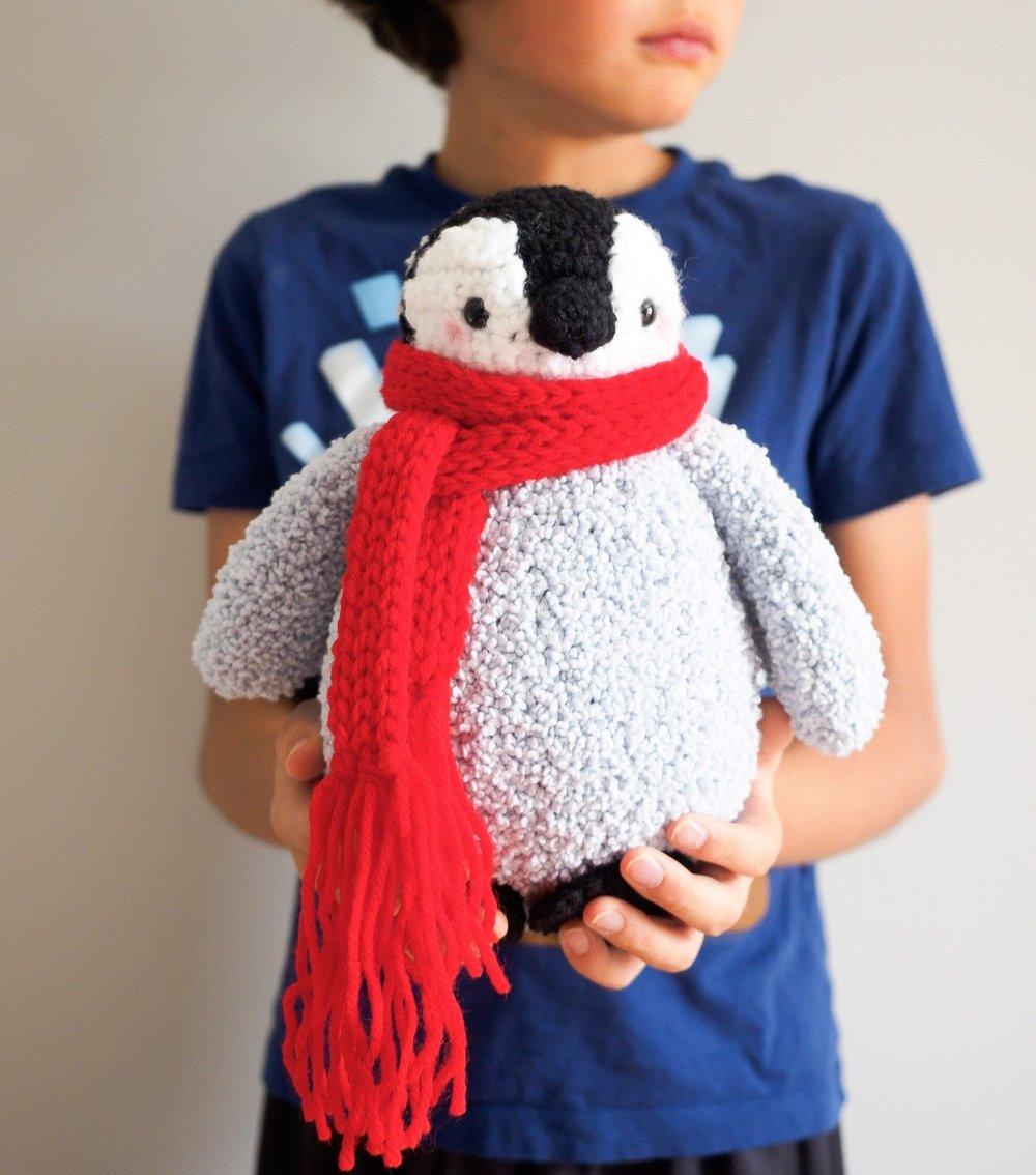 Baby Penguin Amigurumi by One Dog Woof