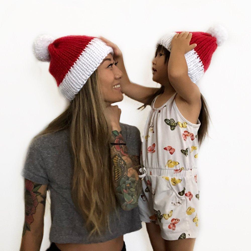 Slouchy Santa Hat by Gorilla Knits