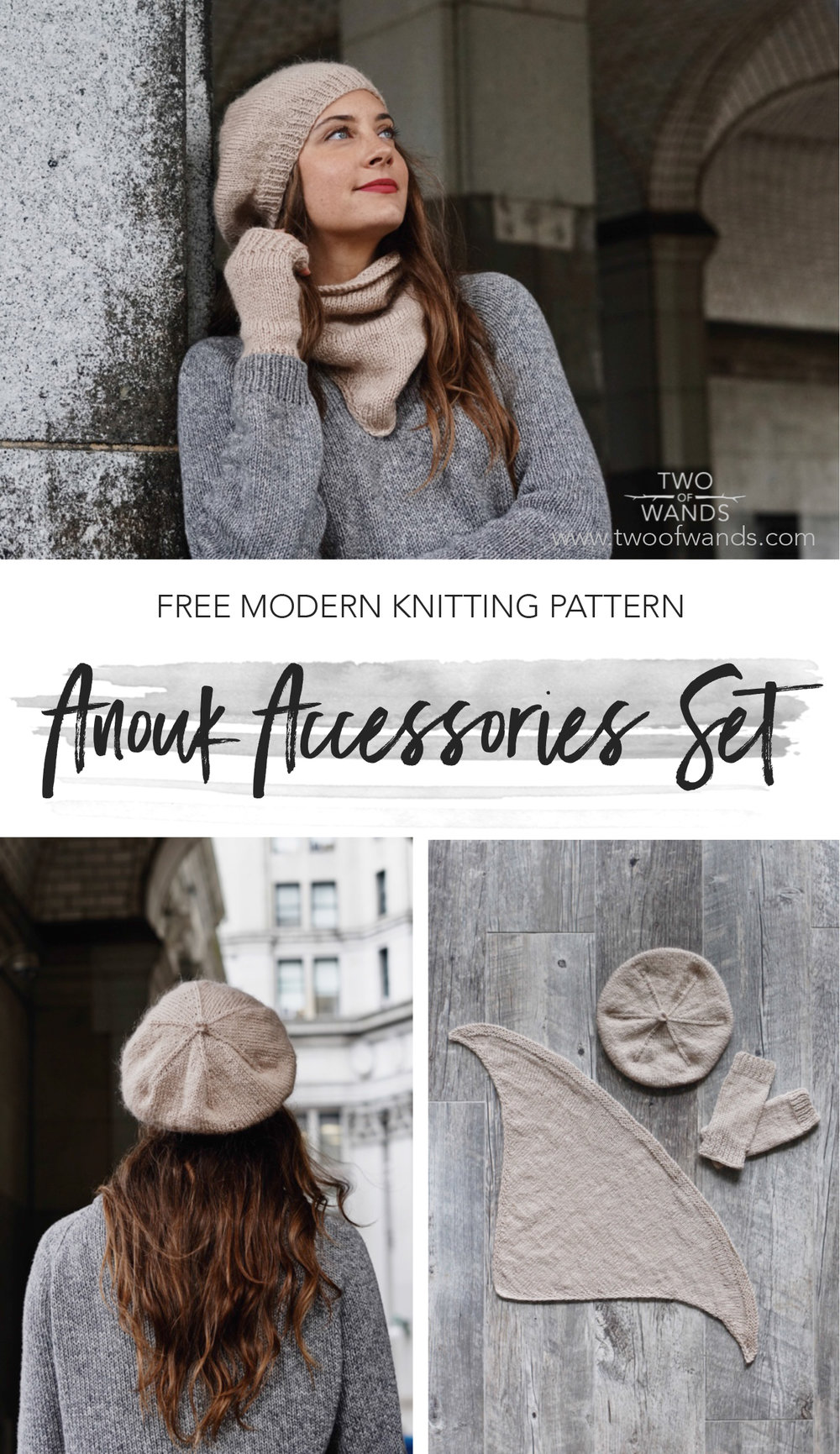 Anouk Accessories Set pattern by Two of Wands
