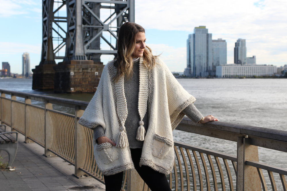 Cobble Hill Morning Cape Pattern by Two of Wands