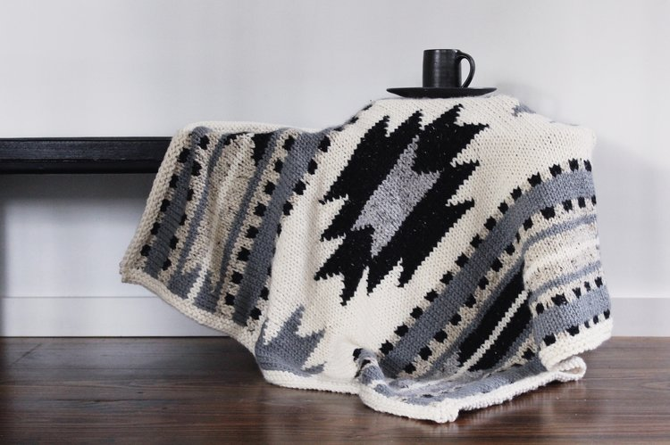 Taos Lap Blanket Two Of Wands