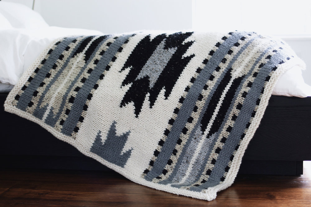 Taos Lap Blanket Pattern by Two of Wands