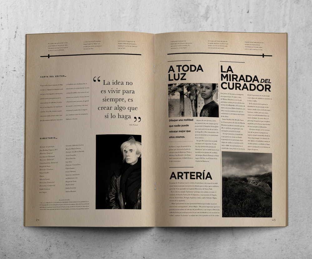 The Magazine Develops An Unique Identity Similar To Old Vintage Newsletters But With A More Minimalist Touch Clean Layout And White Space