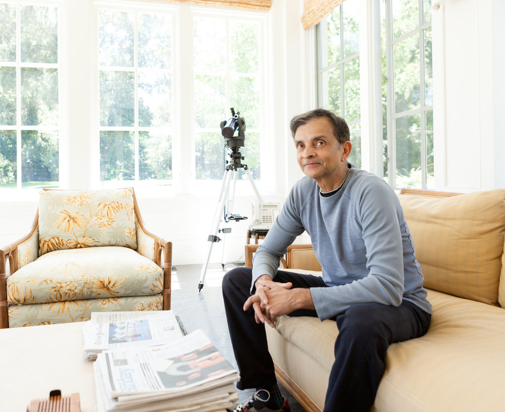 Vivek Ranadive at Home