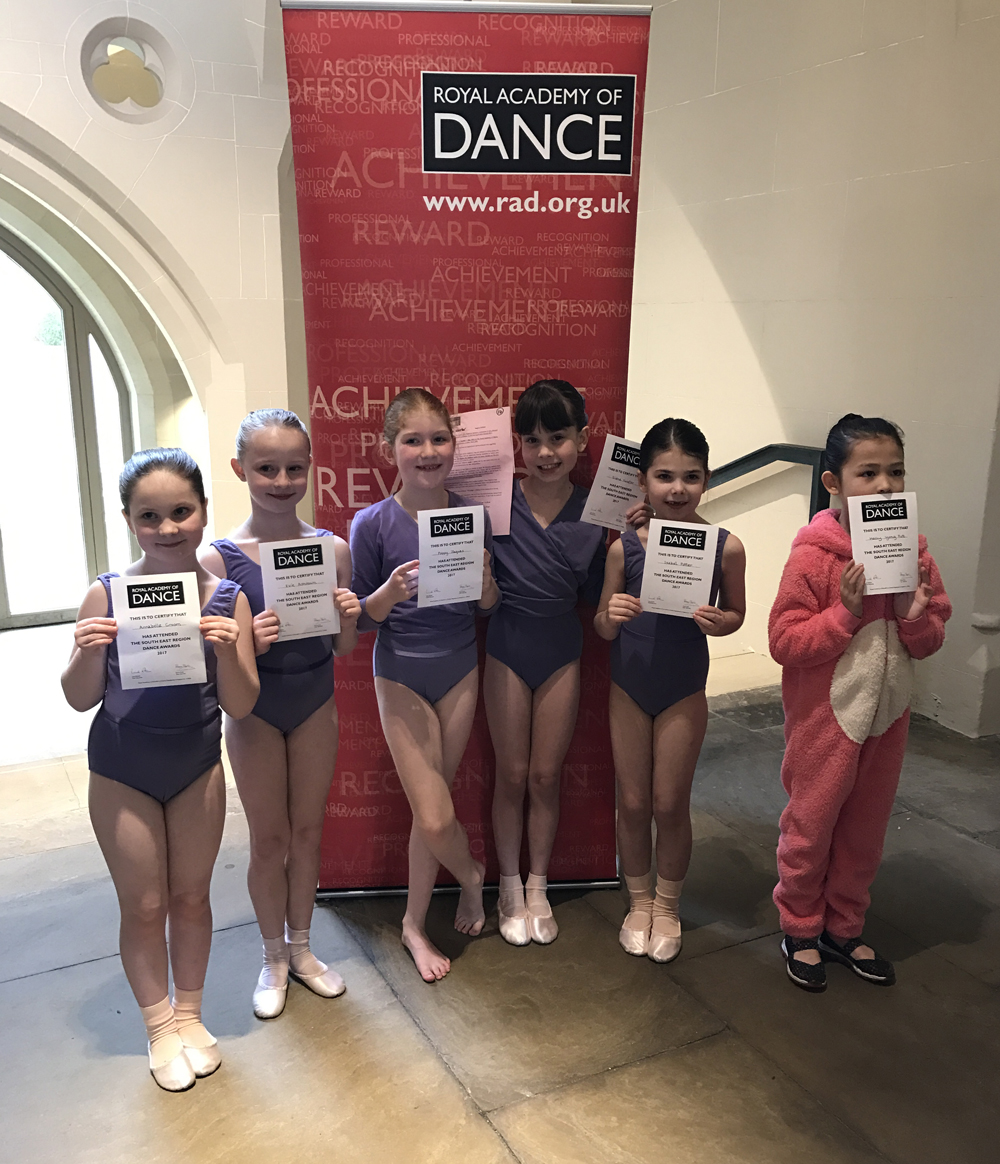 Evie Ashdown age 7 from Newick and Elena Neeter age 8 from Framfield were successful in Class A.