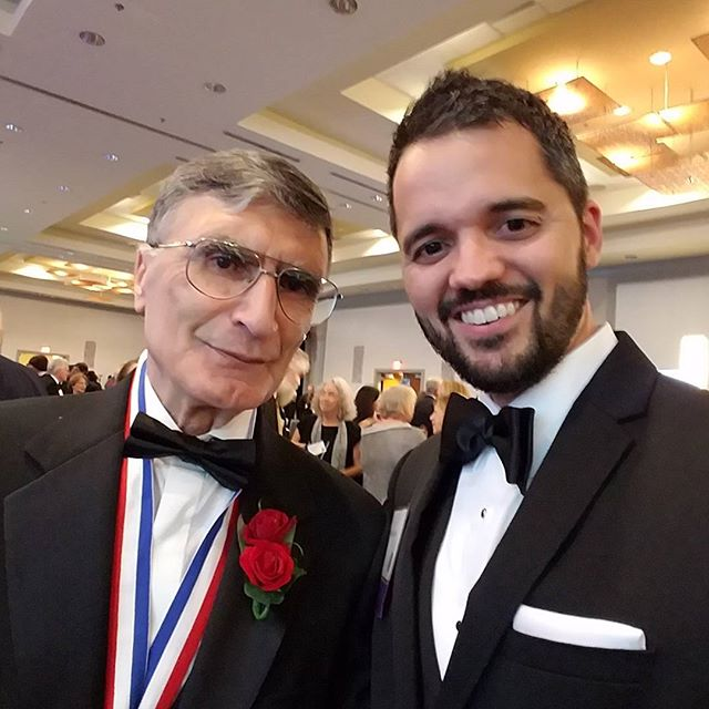 Really honored to meet Nobel Prize winner Aziz Sancar.