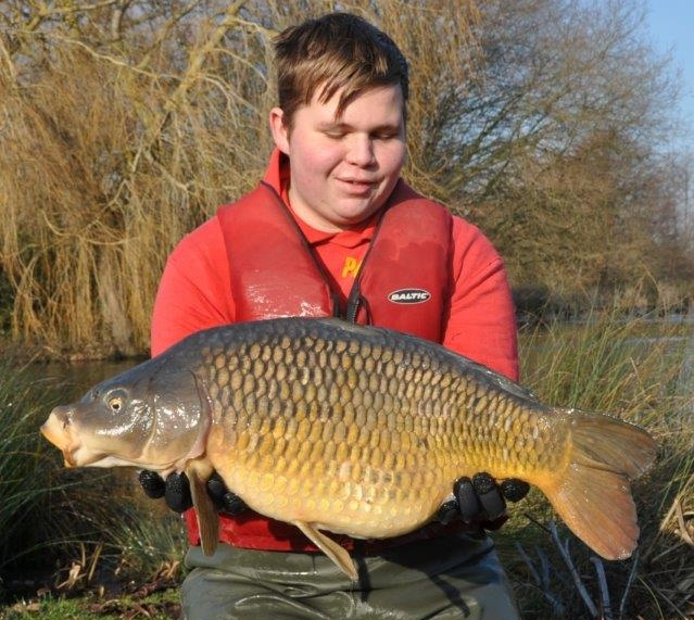 A 20lbs Common for Lake 1 (Carp)