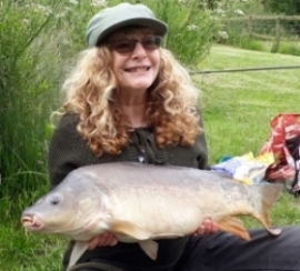 Susan Stephen-Ford and her 21lbs 8ozs                             PB Common