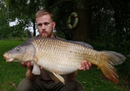 Jack Day and his 18lbs 1oz Common