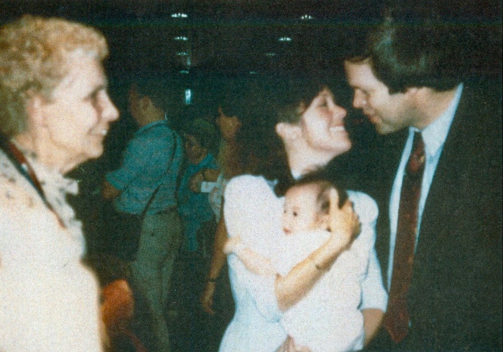 Arrival of Maia Song Elizabeth, September 16, 1987