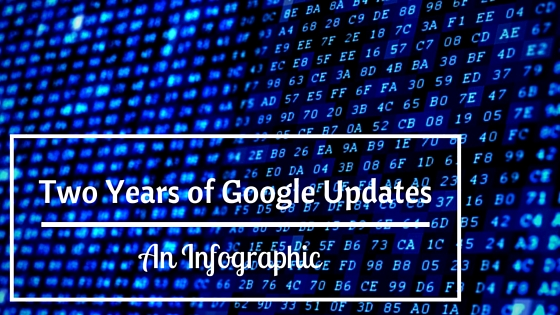 Two Years of Google Updates - An Infographic