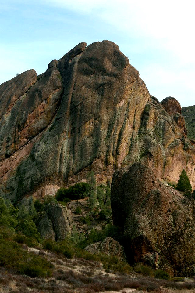 The balconies at Pinnacles