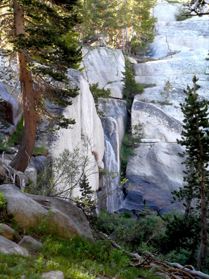 Waterfall at Upper Young Lake