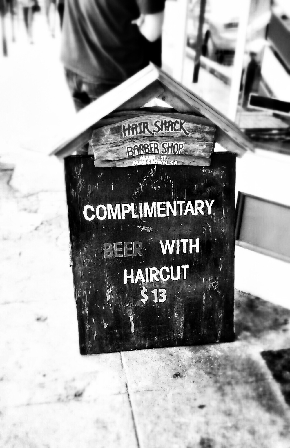Railtown 1897 Hair Cut BW