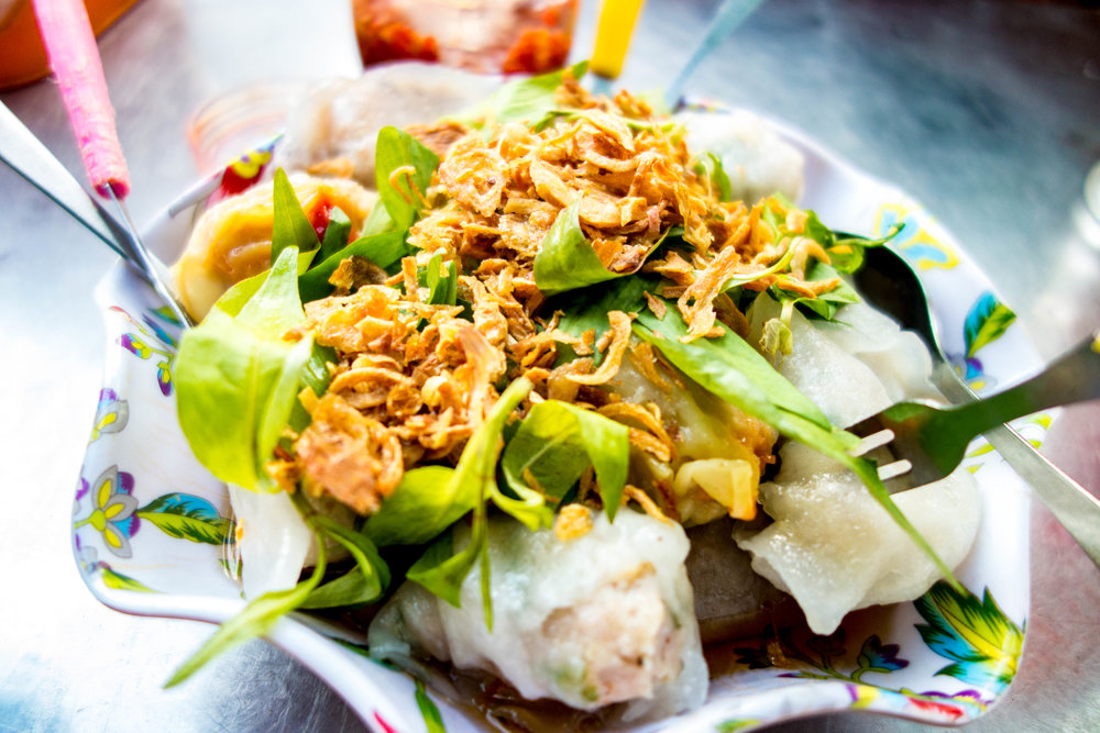 Best meal of 2016: street dumplings in Saigon