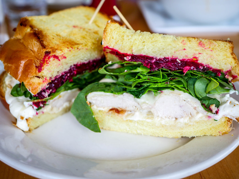 Vermaire (Chicken Cranberry) sandwich from Marie Catrib's