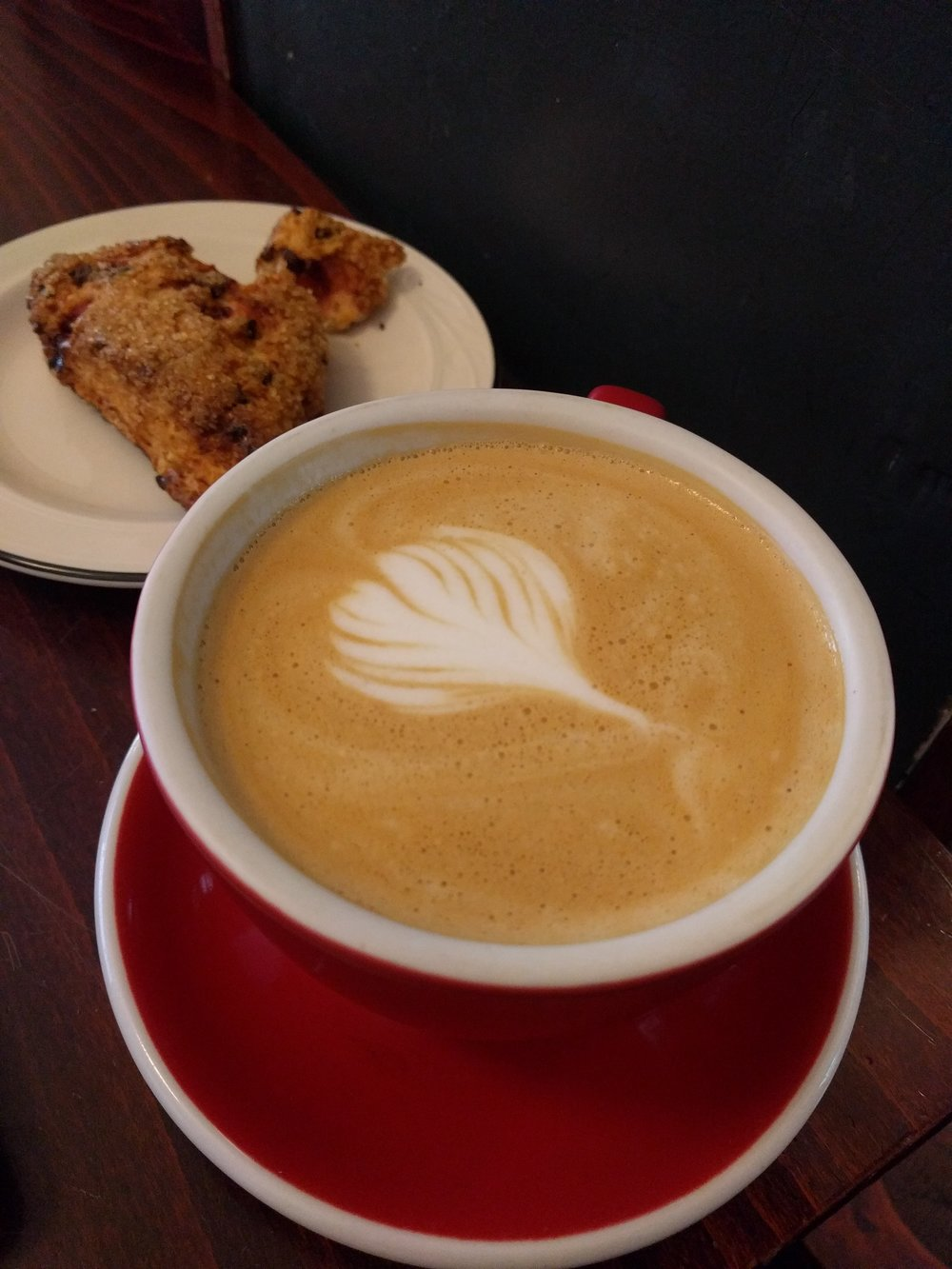 Lady Lazarus (honey & lavender latte) from The Sparrows