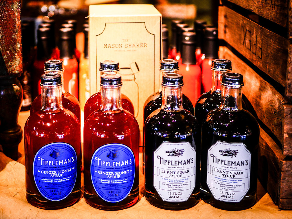 Try uniquely Michigan products like these cocktail syrups or their bourbon smoked maple syrup. Michigan is also known for its cherries.