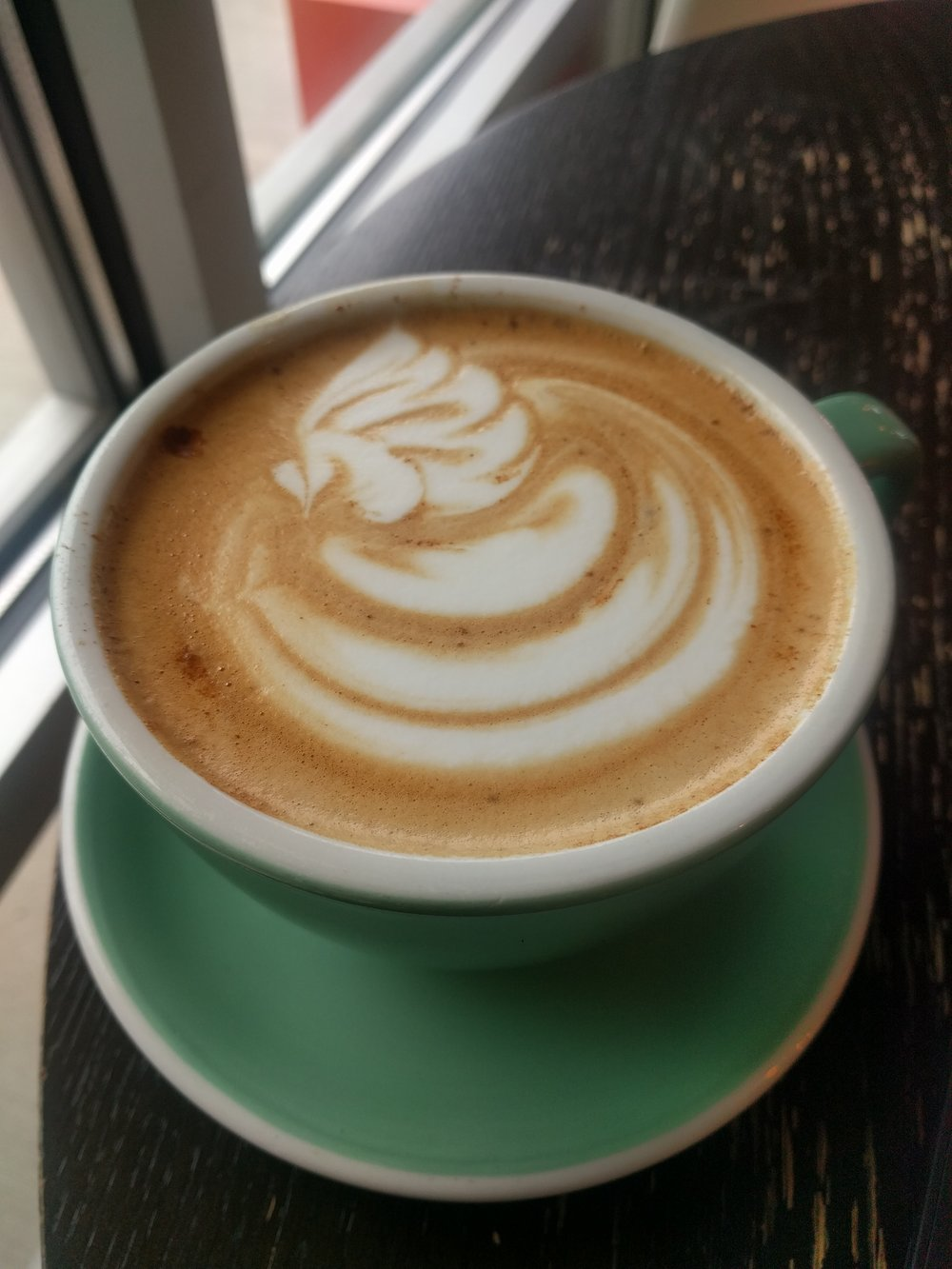 You can enjoy a cafe miel, or honey latte, at almost any independent coffee shop in Grand Rapids.