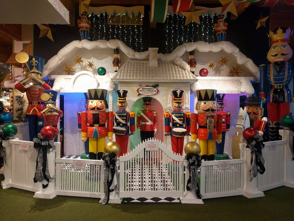 Love Christmas or kitsch? Then head over to the World's Largest Christmas Store in Frankenmuth.