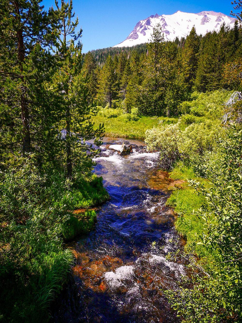 Hat Creek at Lassen Volcanic National Park