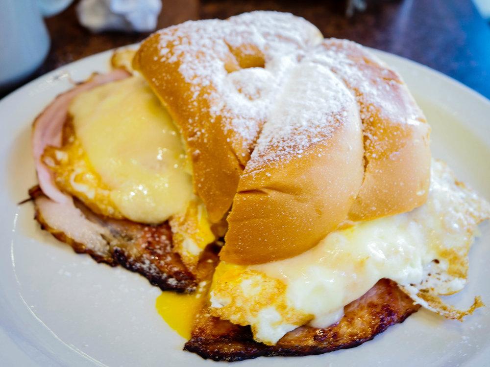 Mallorca sandwich from Pinky's Condado .