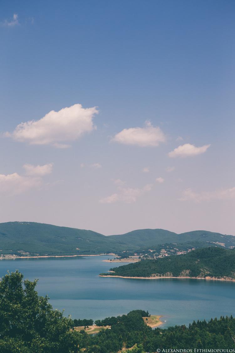 Dionisis & Iliana An amazing wedding in Lake Plastira Greece