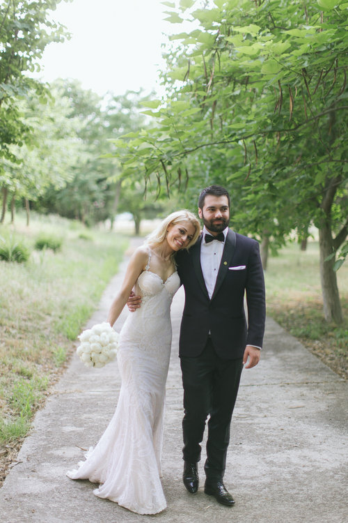 George & Christina   A beautiful couple, Giorgos and Xristina got married in Trikala, Greece.