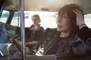 Sage (Julia Garner) and Elle Reid (Lily Tomlin) in GRANDMA Photo Courtesy of Sony Pictures Classics