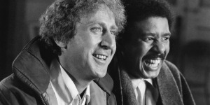 Gene Wilder and Richard Pryor in Silver Streak, 1976.