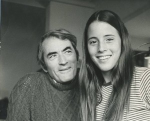 Cecilia and Gregory Peck 2