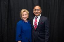 dinesh & Hillary